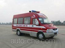 天河牌LLX5043XXFTZ55Y型通讯指挥消防车