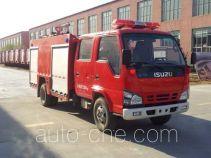 天河牌LLX5074GXFPM30/L型泡沫消防车