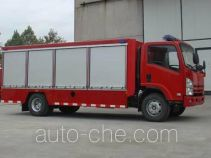 Tianhe LLX5083TXFGQ40L gas fire engine