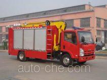 天河牌LLX5083TXFZM40L型照明消防车