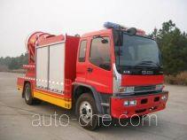Tianhe LLX5103TXFPY34L smoke exhaust fire truck