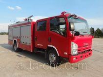 天河牌LLX5104GXFPM40/L型泡沫消防车