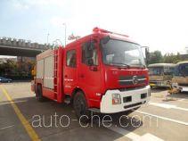 天河牌LLX5124TXFJY90/T型抢险救援消防车
