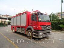 Lighting fire truck