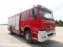 天河牌LLX5154TXFHX25/H型化学洗消消防车