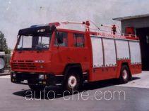 天河牌LLX5160GXFPF40型泡沫干粉联用消防车