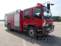 天河牌LLX5164GXFAP50/L型A类泡沫消防车
