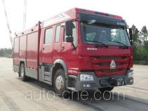 天河牌LLX5184GXFAP40/H型A类泡沫消防车