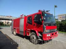 Tianhe LLX5184GXFPM70/L foam fire engine