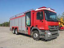天河牌LLX5184TXFHX20/B型化学洗消消防车