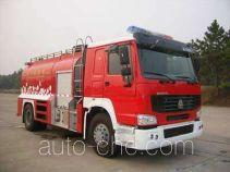 Tianhe LLX5193GXFGY80H liquid supply tank fire truck