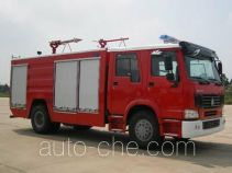 Tianhe LLX5193TXFGP60H dry powder and foam combined fire engine
