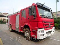天河牌LLX5204GXFAP80/H型A类泡沫消防车