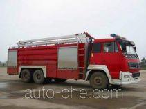 天河牌LLX5243JXFJP16W型举高喷射消防车