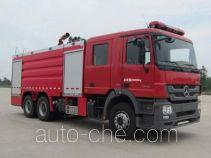Tianhe LLX5284GXFPM120/B foam fire engine