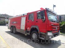 Tianhe LLX5314GXFPM150/H foam fire engine