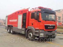 天河牌LLX5324TXFGP120/M型干粉泡沫联用消防车
