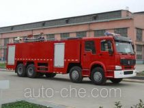 Tianhe LLX5383GXFPM210H foam fire engine