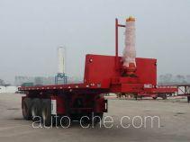 Liangshan Tiantong LML9400ZZXP flatbed dump trailer