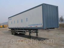 Luping Machinery LPC9250XXY box body van trailer