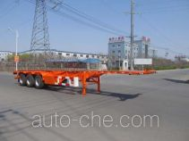 Luping Machinery LPC9400TWYS dangerous goods tank container skeletal trailer