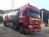 Nanming LSY5311GFLZZ low-density bulk powder transport tank truck