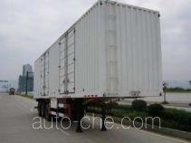 Nanming LSY9382XXY box body van trailer