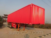 Nanming LSY9403XXY box body van trailer