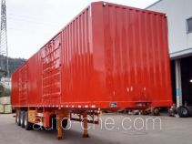 Nanming box body van trailer