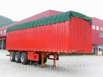 Nanming soft top box van trailer