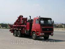 Lantong LTJ5210THS90 sand blender truck