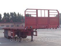 梁通牌LTT9400TPB型平板运输半挂车