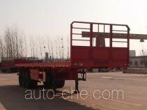 金线岭牌LTY9400TPB型平板运输半挂车