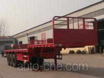 金线岭牌LTY9401TPB型平板运输半挂车