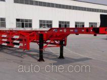 金线岭牌LTY9405TJZ型集装箱运输半挂车