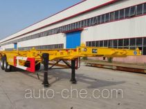 昊统牌LWG9353TJZ型集装箱运输半挂车