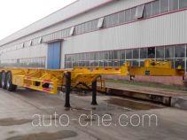 昊统牌LWG9405TJZ型集装箱运输半挂车