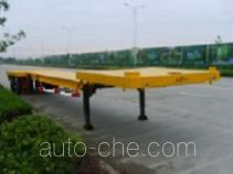 Wind power equipment low flatbed trailer
