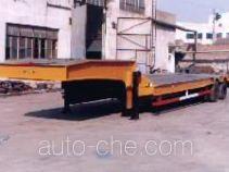 东堡牌LY9201TDP型低平板半挂车