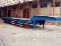 东堡牌LY9402TDP型低平板半挂车