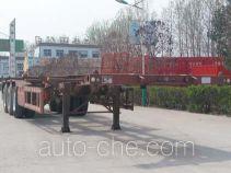 粱锋牌LYL9400TWY型危险品罐箱骨架运输半挂车