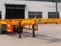 粱锋牌LYL9403TJZ型集装箱运输半挂车