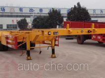 粱锋牌LYL9404TJZ型集装箱运输半挂车