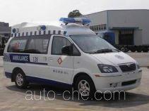 东风牌LZ5020XJHAQ7SN型救护车