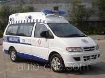 东风牌LZ5020XJHAQASN型救护车