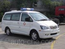 东风牌LZ5026XJHAQASN型救护车