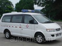 Dongfeng LZ5029XXJAQ7EN blood plasma transport medical car