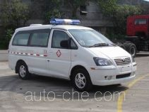 Dongfeng LZ5031XXJAQAS blood plasma transport medical car