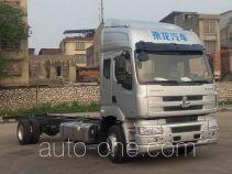 乘龙牌LZ5160XXYM5ABT型厢式运输车底盘