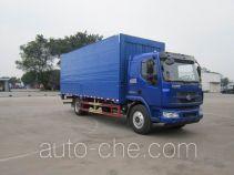 Chenglong LZ5182XYKM3AB автофургон с подъемными бортами (фургон-бабочка)